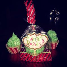 Christmas #cupcakesbycarmen