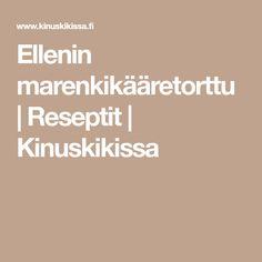 Ellenin marenkikääretorttu   Reseptit   Kinuskikissa Sweets, Baking, Recipes, Gummi Candy, Candy, Bakken, Recipies, Goodies, Ripped Recipes