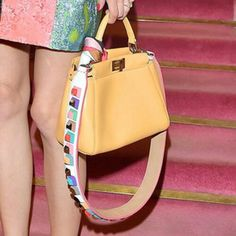 """Fendi """"Strap You"""" $1000 dollars for the strap and bag sold separately. Crazy that I want one but I do!!!!!!"""