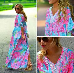 Mary from @HappilyGrey in Lilly Pulitzer Summer '13- Coleman Maxi in Lets Cha Cha