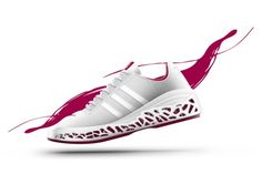 Spider Silk Inspired Adidas Concept by Joy Yang