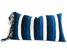 Artisan Batik Indigo Pillows