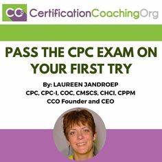 What I'm about to share with you are the very, very best tips from me on how to pass the CPC exam on your first try and I'm teaching this method since This is Medical Coding Certification, Medical Coder, Medical Billing And Coding, Medical Terminology, Cpc Certification, Medical Assistant, Coding Jobs, Coding Class, Coding Training