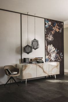 Sideboard with doors METROPOL by Cattelan Italia