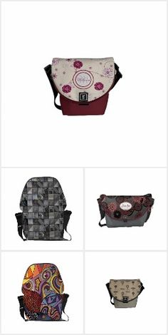 Designer Patterned Messenger #Bags