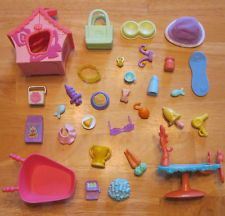 Littlest Pet Shop HUGE Lot ~30+ Pieces of LPS Accessories~(2)