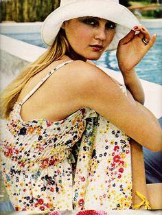 A summer dress, Seventeen magazine, May 1972