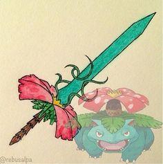 Venusaur Sword