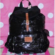 PINK sequin backpack! I want this soo much.
