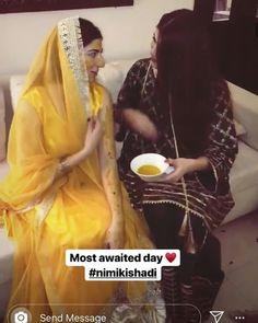 Naumal khawar weds Hamza ali Abbasi Pakistani Actress, Muslim Women, Anarkali Suits, Hollywood Celebrities, Mehendi, Celebrity Weddings, Cute Couples, Actors & Actresses, Day