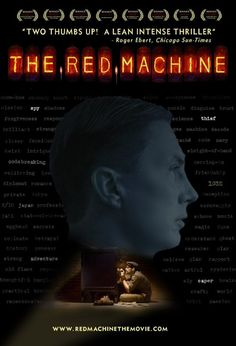 The Red Machine 2009 Sleight Of Hand, Chicago Sun Times, Internet Movies, Top Movies, Thriller, Clever, Coding, Red, Movie Posters