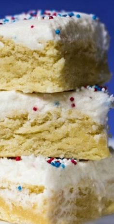 Sugar Cookie Bar 4th of July Dessert - Kids Activities Blog