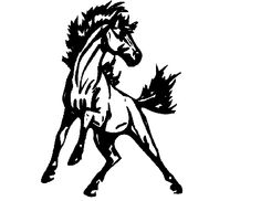 Clip art free mustang 20 mustang clip art common core for Wild horse tattoo