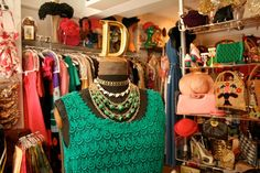 10 London Vintage Stores That NEED To Be On Your Radar #refinery29  http://www.refinery29.com/london-vintage-shopping#slide-2  Deborah Woolf Vintage — Handily located by Alfie's Antique Market, it's not hard to understand why hoards of designers and stylists regularly come here to get inspired. Woolf, a stylist herself, has a weakness for vintage costume jewellery from the '50s, '60s, and '70s, making her boutique an ideal habitat for magpies. She also loves rare British boutique clothing…