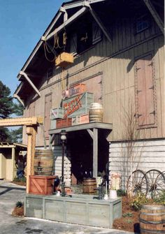 The Great Barn at Stone Mountain Park, Stone Mountain, GA http://ow.ly/bCJkY
