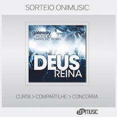 Sorteio CD de Diante do Trono.