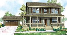 ePlans Country House Plan – Pine Hill is Compact But Feels Spacious– 1733 Square Feet and 3 Bedrooms from ePlans – House Plan Code HWEPL76134
