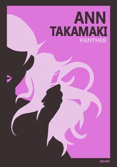 Persona 5 Ann, Persona 5 Joker, Girl Posters, Minimalist Poster, Cool Cartoons, Cool Artwork, Cool Girl, Fan Art, Video Games