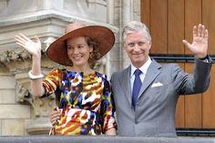 mathilde de belgique +21 JUILLET | ... Style – Reine des Belges - Quand Mathilde arbore de grands chapeaux