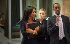 """I never heard of """"House of Lies"""" until I saw the interview of Don Cheadle with W. Kamau Bell on """"Totally Biased."""" I can't get enough of that show!"""