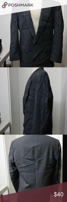 FINAL SALE Oscar De La Renta Dark Grey Blazer Great used condition.  Needs to be ironed. Oscar de la Renta Suits & Blazers Sport Coats & Blazers
