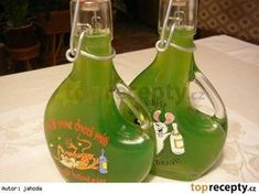Mátový sirup - vařený, sterilovaný Home Canning, Kraut, Hurricane Glass, Healthy Drinks, Aloe Vera, Lemonade, Body Care, Smoothies, Herbalism
