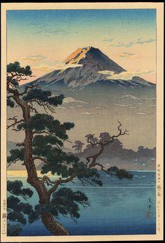 Japanese Art Prints, Japanese Artwork, Japanese Painting, Japan Illustration, Japanese Landscape, Landscape Art, Japanese Aesthetic, Aesthetic Art, Art Occidental