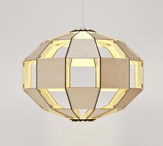 Awesome remake : Alouette satellite chandelier on Ideacious