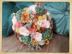 Bridal bouquet by Fleurt Floral Art
