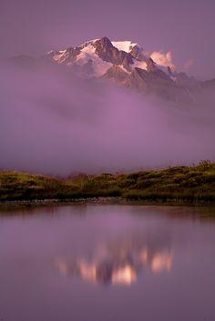 2x Mont Blanc by vincentfavre on DeviantArt... [Cormet de Roselend - FRANCE]