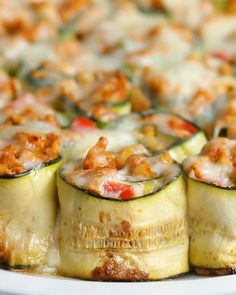 Zucchini Enchilada Roll-Ups Recipe by Tasty