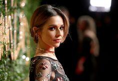 From the red carpet at the #BFAs, #CherylFernandezVersini wearing #MonicaVinader SS16 Stellar Drop #diamond earrings.
