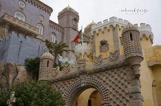 Sintra, Nurg, Castell, Schloss, Palacio da Pena, Portugal, Reisen