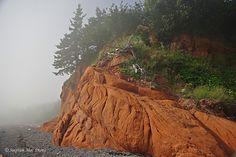 Red Rocks at Advocate Harbour, Nova Scotia