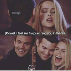Daniel/ Elijah and Claire / Rebekah