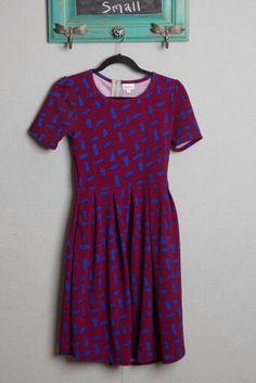 Bright modest statement dress!