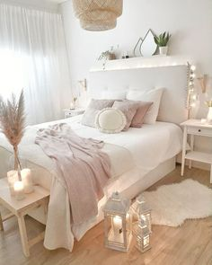 60 Bohemian Minimalist with Urban Outfiters Bedroom Ideas, Girl Bedroom Designs, Room Ideas Bedroom, Home Decor Bedroom, Ikea Bedroom, Master Bedroom, Bedroom Ideas On A Budget, Ikea Beds, Girls Bedroom Furniture, Warm Bedroom