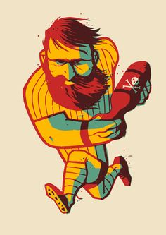 Rugby Bomb on Behance
