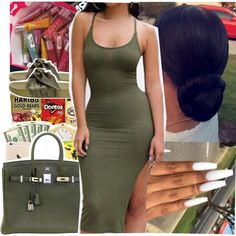 A fashion look from June 2017 featuring Puma sandals and Hermès handbags. Browse and shop related looks.