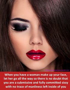Montreal based submissive sissy in training, desiring a good time while I share captions that I have found that I fantasize about. Sissy Maid, Sissy Boy, Prissy Sissy, Prom Makeup For Brown Eyes, Forced Tg Captions, Barbie Makeup, Too Much Makeup, Skin Makeup, Crossdressers