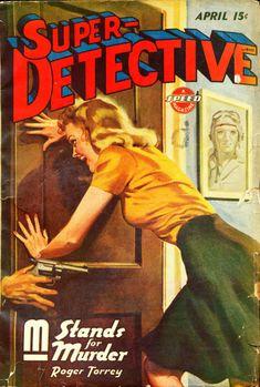 Super Detective, Apr. 1944 - H.J. Ward
