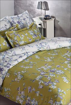 Linen Bedding, Bed Linen, Comforters, Blanket, House Styles, Furniture, Beautiful, Color, Home Decor