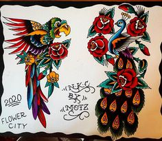 Raw power of designs always fun to paint. Sailor Jerry, All Tattoos, Angel Tattoo Men, Big Tattoo, Lower Back Tattoos, Arm Band Tattoo, Traditional Tattoo, Tattoo Images, Picture Tattoos