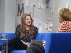 """Helene Hegemann stellte auf dem Blauen Sofa ihr Buch """"Jage zwei Tiger"""" vor #fbm13"""