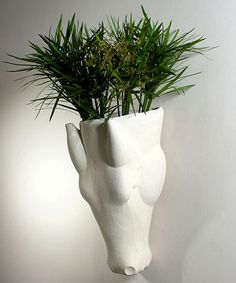 Global Views Studio A Equus Limestone Wall Vase in White, Transitional Bliss Home And Design, Limestone Wall, Bizarre, Equestrian Style, Equestrian Decor, Baskets On Wall, Wall Sculptures, Biodegradable Products, It Is Finished
