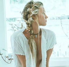≫∙∙ boho bride hair∙∙≪