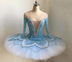 B-015 Professional Blue Platter Ballet Tutu YAGP