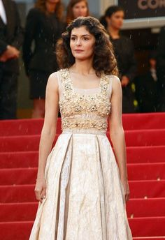 "Actress Audrey Tautou attends the Closing Ceremony and the ""Therese Desqueyroux"" Premiere during the 65th Annual Cannes Film Festival at Palais des Festivals on May 27, 2012 in Cannes, France."