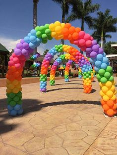 Balloon Arch Balloons Galore Decorations Ballons Arches My Little Pony Globes May Liro Bows