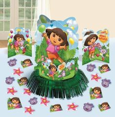 Dora Table Decorating Kit Party Accessory, http://www.amazon.com/dp/B007Q0O1T8/ref=cm_sw_r_pi_awdm_Dk8ztb1G81REQ